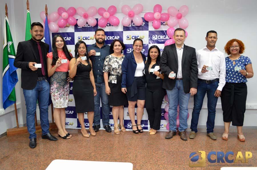 10a4d4f27 No último dia 18 de setembro/18, o Conselho Regional de Contabilidade do  Amapá promoveu a entrega solene dos Registros de novos Profissionais da ...